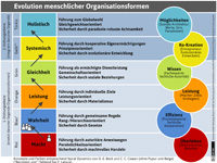 Evolution-organisationsformen